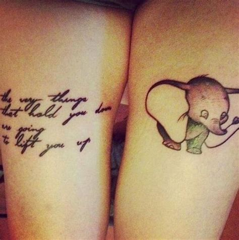 dumbo tattoo creative disney tattoos that will make you wish upon a