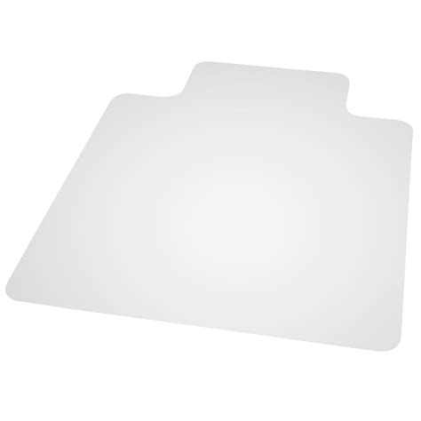 es robbins everlife hard floor straight edge chairmat 45 quot x 53 quot with lip grand toy