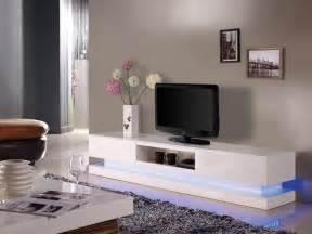 meuble tv firmament mdf laqu 233 leds 2 coloris