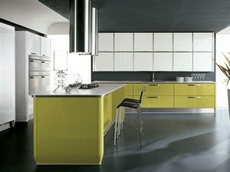 cuisine moderne jaune 125 exemples de cuisines 233 quip 233 es ultra modernes partie 2