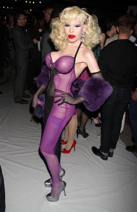 Amanda Lepore To Appear In Buzzworthy New by Amanda Lepore Photos Photos The Blonds Fall 2010 Fashion