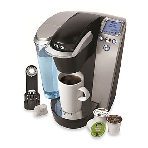 keurig bed bath and beyond keurig 174 k75 platinum single serve brewing system in silver
