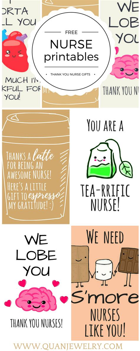 free printable nursing quotes free printable nurse appreciation thank you cards quan