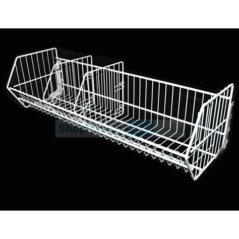 gondola shelving wire basket