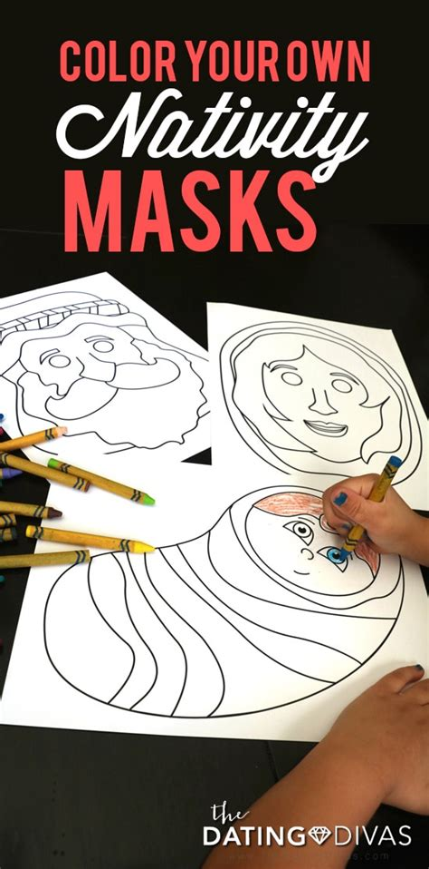 printable nativity animal masks printable nativity masks the dating divas