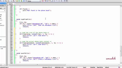 github bangla tutorial phonebook application using c programming language part