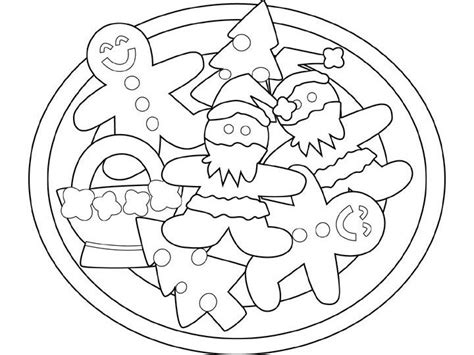 Gingerbread Man Color By Numbers Quotes Gingerbread Cookie Coloring Page