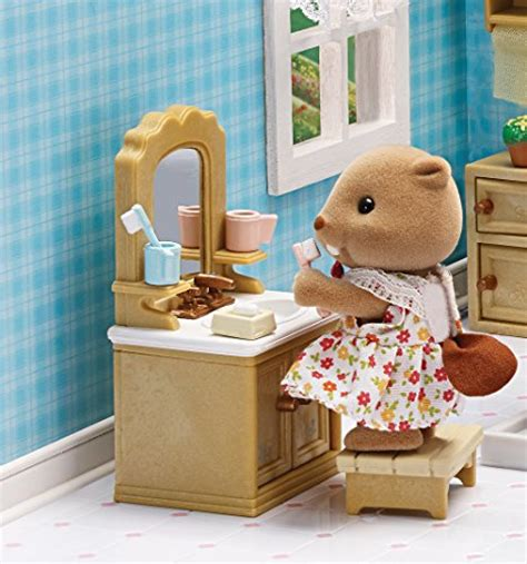 calico critters bathroom calico critters deluxe bathroom set import it all