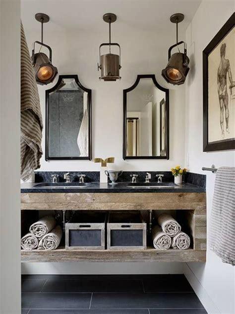 Industrial Bathroom Storage 15 Industrial Vintage Bathrooms House Design And Decor