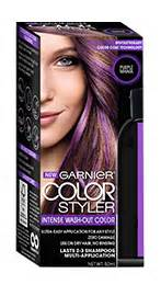 How To Wash Semi Permanent Hair Color Out - color styler semi permanent wash out hair color product garnier