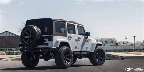 Jeep Yj Wheels This Jeep Wrangler With Fuel Wheels Is A Beast Literally