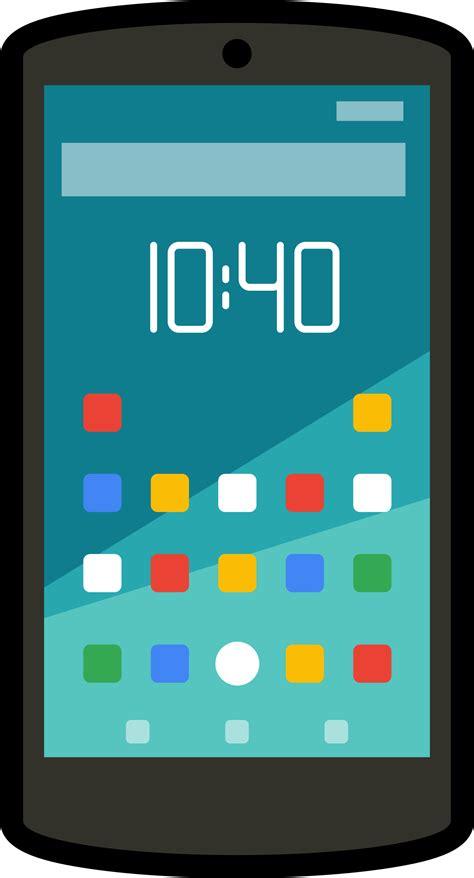 cartoon themes cell phone clipart cartoon android smartphone