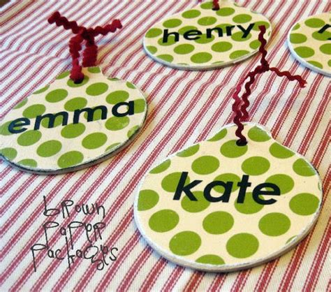 name ornaments homemade 22 gorgeous ornament patterns tip junkie