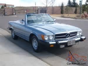 1974 Mercedes 450sl 1974 Mercedes 450sl Base 4 5l Convertible Roadster