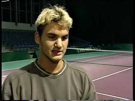 Roger Federer 1999 Interview   YouTube