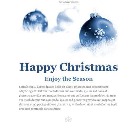 Happy Holidays Email Templates happy holidays email templates for new year 2013