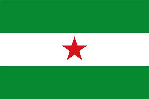 andalucia roja y la file bandera andaluc 237 a libre svg wikimedia commons