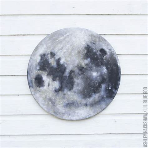 watercolor moon tutorial diy moon painting how to paint a full moon by ashley