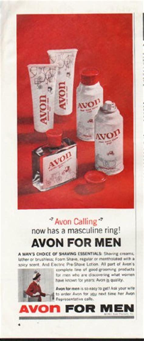 avon vintage ad avon calling