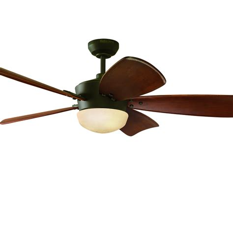 Shop Harbor Breeze Saratoga 60 In Oil Rubbed Bronze Harbor Ceiling Fan Light