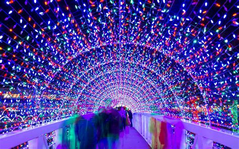 best lighting the best christmas light displays in every state travel