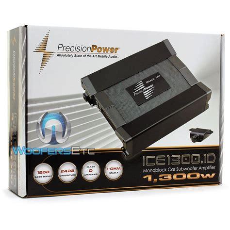 Power Lifier Monoblock Ice1300 1d Precision Power Monoblock 1 300w Max Class D Lifier