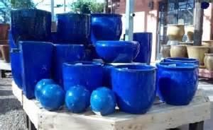 ceramic pots blue thesecretconsul