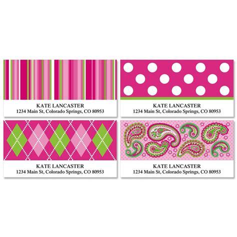 html pattern for address pink patterns deluxe return address labels colorful images