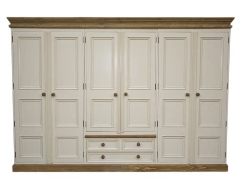 Pine Wardrobe With Drawers by Solid Wood Interiors Gt Solid Pine Wardrobe 6 Doors
