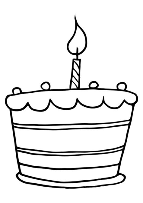 coloring pages birthday cake candles free coloring pages of birthday candle