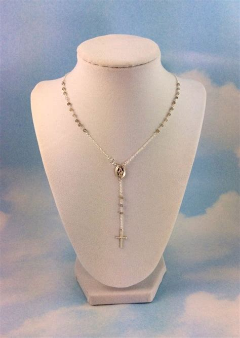 yolanda short necklace the 25 best rosary necklace ideas on pinterest gold