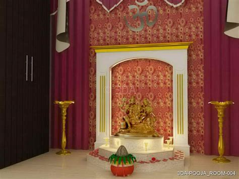 3DA :  Best Pooja Room Interior Decorators in Delhi and