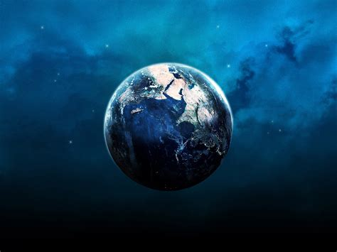 wallpaper blue earth blue earth wallpapers hd wallpapers id 3880