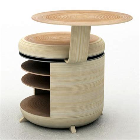 unique storage functional modular storage unit that also acts as a chair and table digsdigs