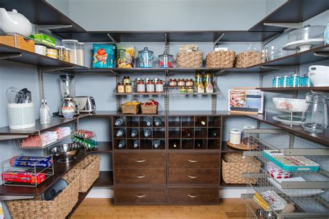 Kitchen Remodel Ideas Pictures organized living pantry shelving