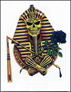 henna tattoo bonn pharaoh skull temporary