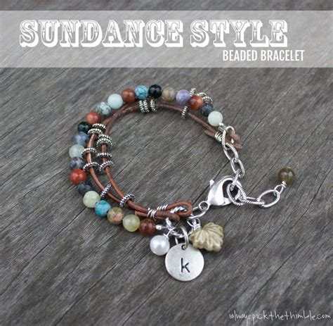 leather beaded bracelet diy beaded bracelet ideas crafts easy diy crafts and