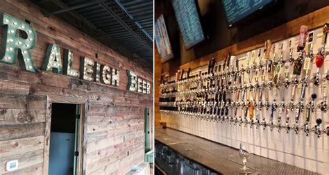 raleigh beer garden   beers  tap