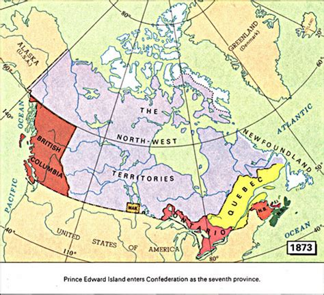 canadian map before confederation archived prince edward island provinces and