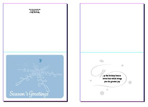 greeting card template for standard printers premium member benefit greeting card templates