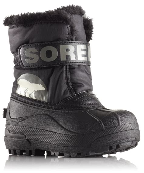 sorel toddler boots sorel snow commander winter boots pink black