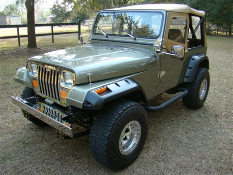Jeep Wrangler For Sale Dallas Tx 1988 Jeep Wrangler Yj For Sale In Dallas Car
