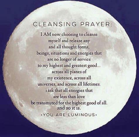 pin  elle torres  spellcasting cleansing prayer