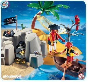 roeiboot intertoys playmobil 4139 compactset pirateneiland