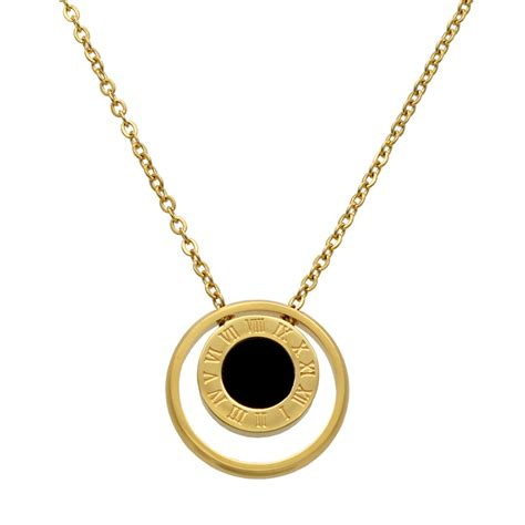 Numeral Pendant Necklace numeral pendant necklace shell with agate