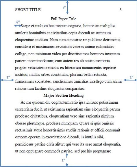 paragraph   style paper