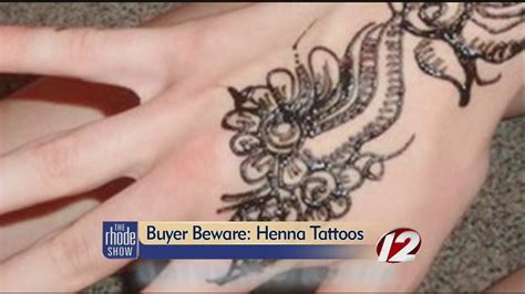 dangers of black henna tattoos