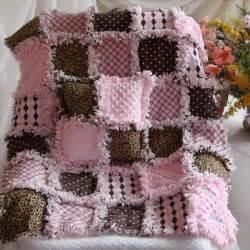 custom order baby rag quilt quilts crochet
