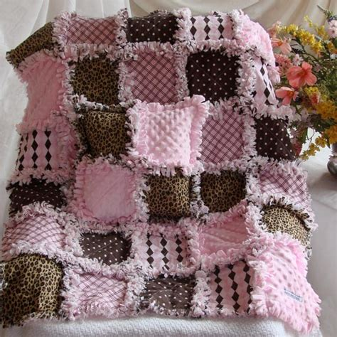 Rag Quilts On by Custom Order Baby Rag Quilt Quilts Crochet