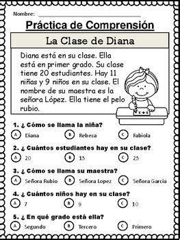 preguntas biblicas con opcion multiple spanish reading comprehension stories cuentos de